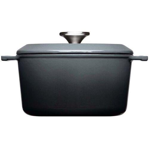 WOLL Kochtopf »Iron«, Gusseisen, (1-tlg), Ø 20 cm, Induktion, grau