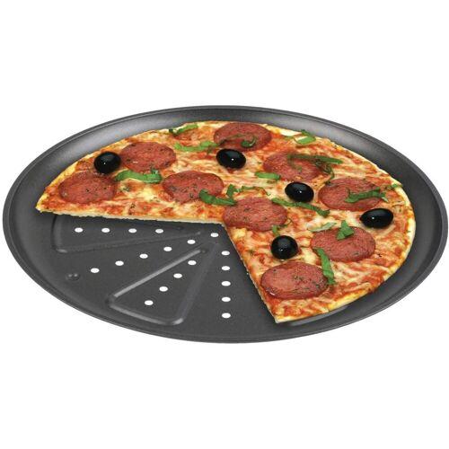 CHG Backblech »9776-46 Pizzabackblech 2 Stück, Durchmesser: 28 cm«, ILAG SPECIAL 2-Schicht, in neuer Profiqualität 250 Grad hitzebeständig Pizzablech Backblech