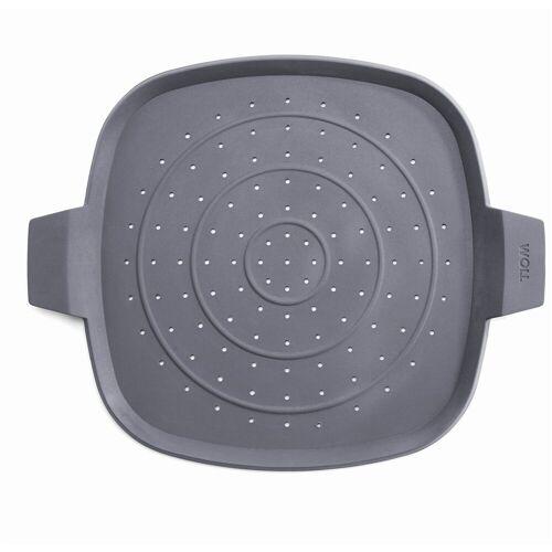 WOLL Spritzschutzdeckel »Spritzschutz Silikon Viereckig«, flexibel
