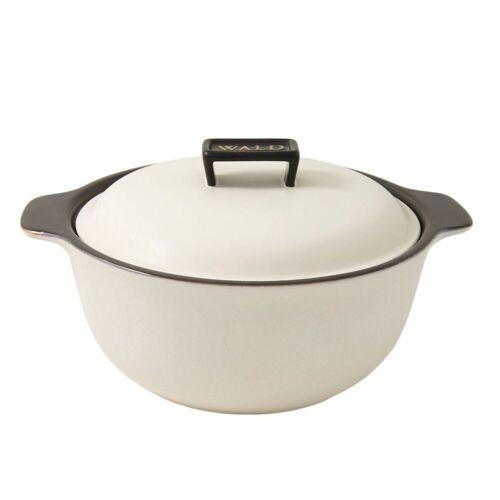 WALD Kochtopf »Keramik-Kochtopf groß, weiß«