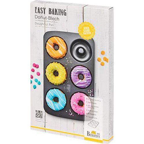 Birkmann Donutplatten »Easy Baking Donut-Blech für 6 Donuts«, Stahl