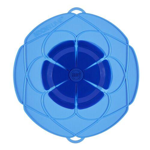Kochblume Überkochschutz »Überkochschutz blau 33 cm«