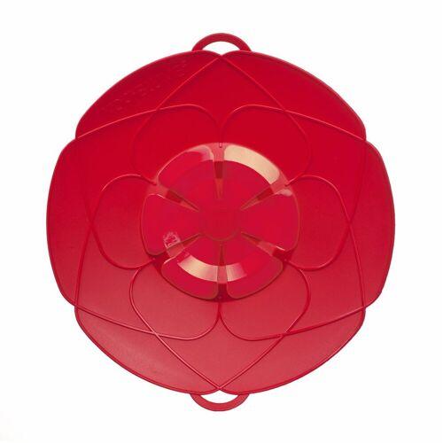 Kochblume Überkochschutz »Überkochschutz rot 25.5 cm«