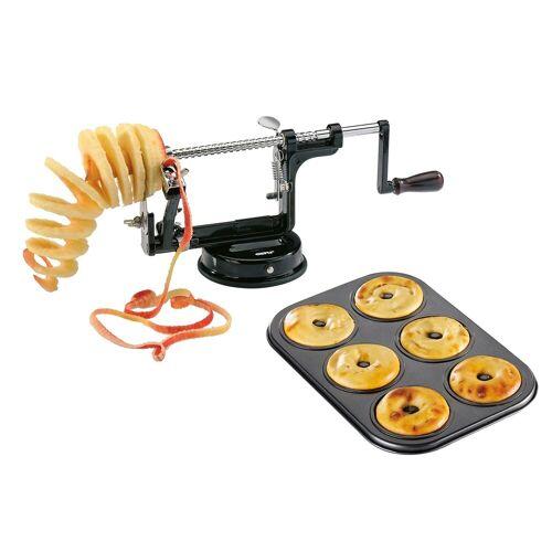 GEFU Apfelschäler »Set: Apfelschäler DELICIO + Küchleblech«, Apfelschäler
