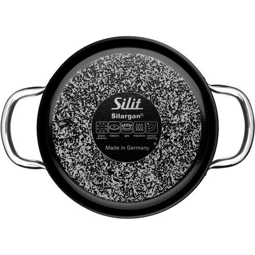 Silit Schmortopf »Schmortopf 28cm Energy Red«, Emaille