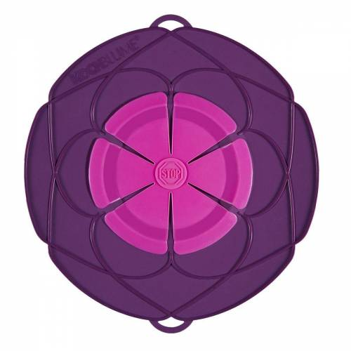Kochblume Überkochschutz »Überkochschutz lila-pink 33 cm«