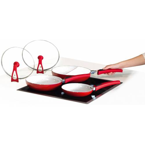 MediaShop Pfannen-Set »Duo 2 Magic Premium«, Keramik (Set, 3-tlg), Induktion