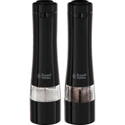 RUSSELL HOBBS Salz-/Pfeffermühle »Salz- & Pfeffermühlen« elektrisch, (2 Stück)