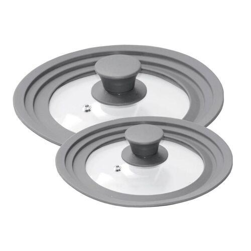 STONELINE Deckel »®«, (Set, 2-tlg), für 6 verschiedene Durchmesser