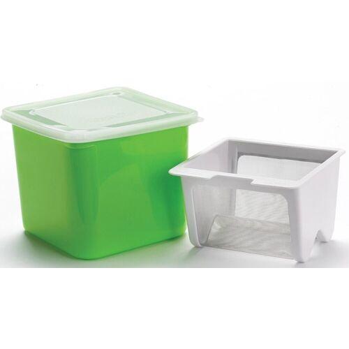 Cuisipro Küchensieb »Frischkäsebereiter«, Kunststoff, Edelstahl, grün