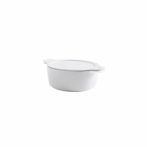 Eschenbach® PORZELLAN GERMANY Kochtopf, Porzellan, aus Porzellan Φ16/1L, Φ18/1,5L, Φ20/2L, Φ24/4L, weiß