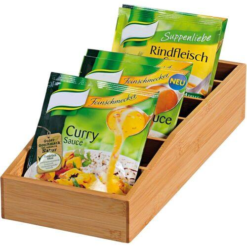 KESPER for kitchen & home Aufbewahrungsbox, Bambus, (1-tlg)