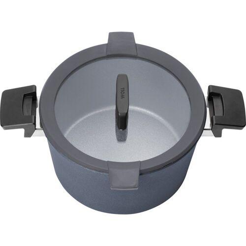 WOLL Bräter »Induktions-Gusstopf Concept Plus«, Aluminium-Guss, alle Herdarten und Herdplatten bis 18,00 cm