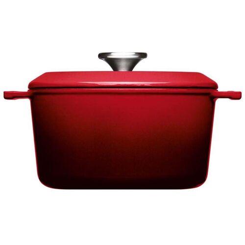 WOLL Kochtopf »Iron«, Gusseisen, (1-tlg), Ø 20 cm, Induktion, rot