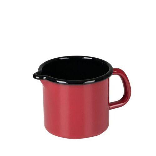 Riess Milchtopf »Schnabeltopf Color Schnabeltopf Color«, Premium-Email, (1-tlg), Schnabeltopf, Rot