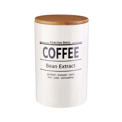 BUTLERS Kaffeedose »KARLTON BROS.«, Porzellan, Bambus