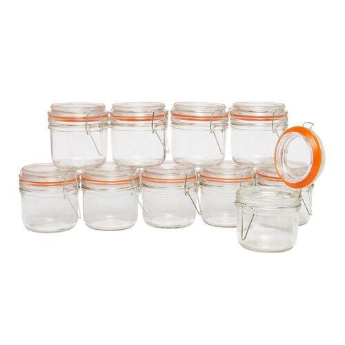 VBS Einmachglas »Vidro«, Glas, 10 Stück