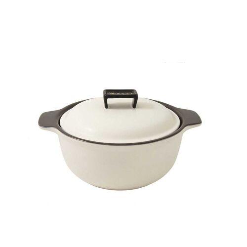 WALD Kochtopf »Keramik-Kochtopf mittelgroß, weiß«