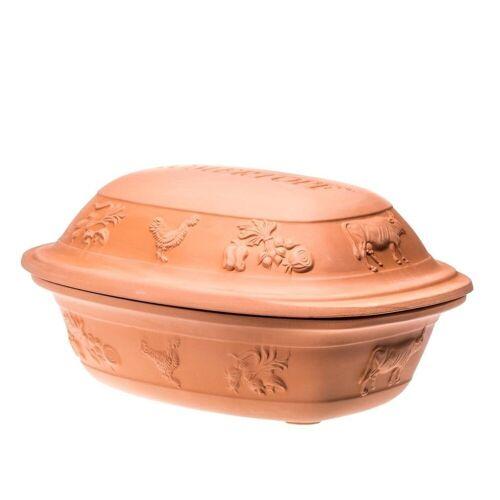 RÖMERTOPF Römertopf »Rustico 5 kg Bräter Keramik Gartopf«