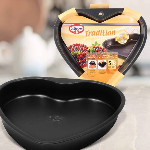 Dr. Oetker Back-Set », Herzbackform Tradition 24cm«, (1-tlg)