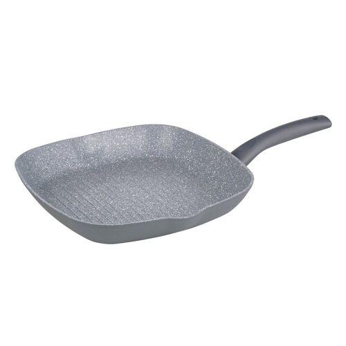 Michelino Grillpfanne »Grillpfanne Nora«, Aluminium (1-tlg), Grillpfanne, Grau