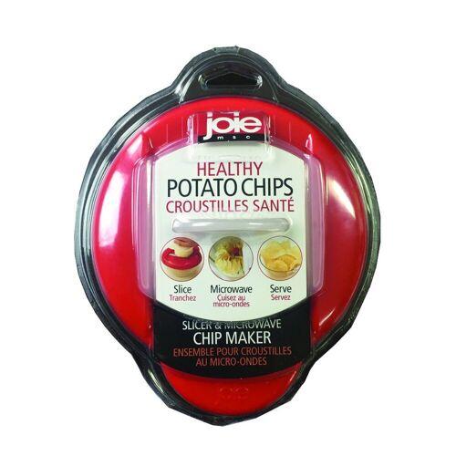 Joie Mikrowellenbehälter »Mikrowellen Chipsmaker rot«, Kunststoff