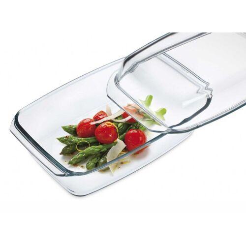 SIMAX Auflaufform »Glas Auflaufform mit Deckel 34,8 cm«, Glas
