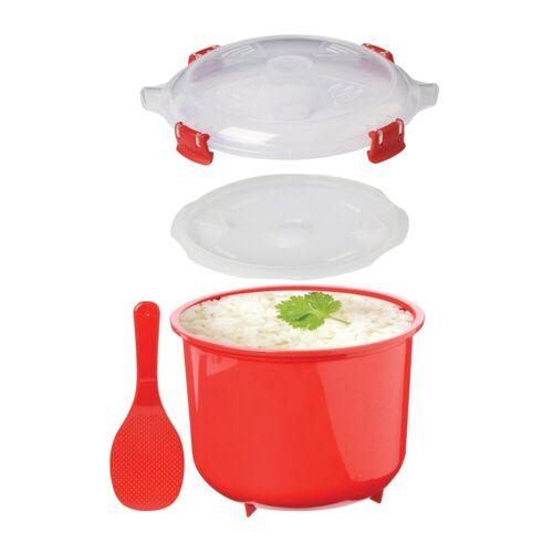 sistema Mikrowellenbehälter »Mikrowellen Reiskocher, 2.6 l«, Kunststoff (lebensmittelecht)