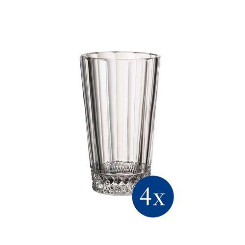 Villeroy & Boch Longdrinkglas »Opéra Longdrinkglas 4er Set«, Glas