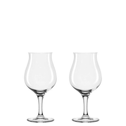 LEONARDO Bierglas »Biertulpen, 2er Set Taverna«, Glas