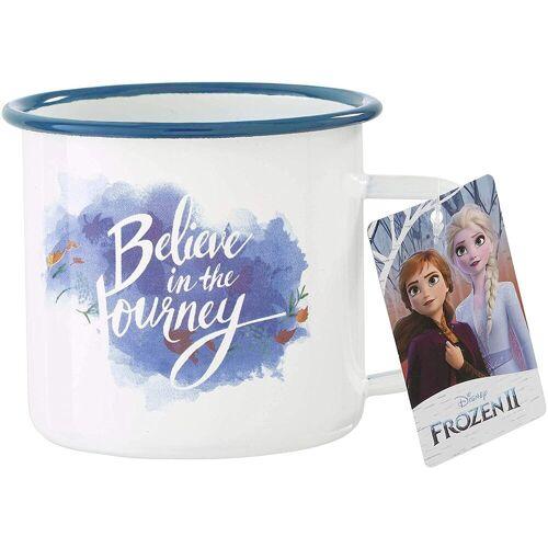 Funko Tasse »Pop! Home - Frozen 2 - Die Eiskönigin 2 - Metall Tasse - Believe in the Journey«, Metall