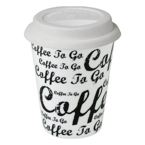 Könitz Coffee-to-go-Becher »Becher mit Deckel«, Metall