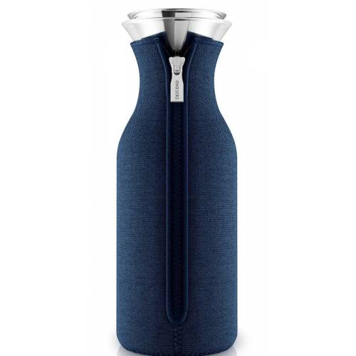 Eva Solo Wasserkaraffe »Karaffe mit Anzug Navy blue woven 1,0 Liter«