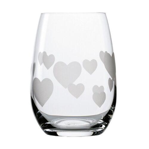 Stölzle Glas »L'Amour«, Kristallglas, 6-teilig, transparent-weiß
