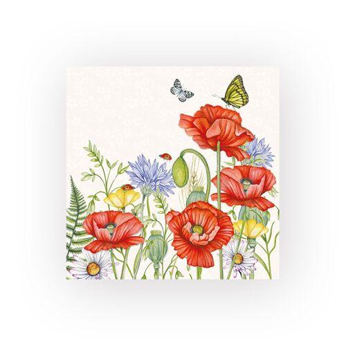 Ambiente Papierserviette »Summertime«, (5 St), 33 cm x 33 cm