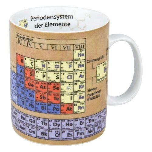 Könitz Becher »Wissensbecher Chemie 460 ml«, Porzellan