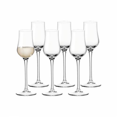 LEONARDO Schnapsglas »CIAO+ Grappaglas 85 ml 6-tlg.«, Glas
