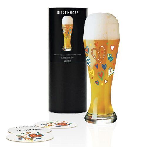 Ritzenhoff Bierglas »Weizenbierglas Ulrike Vater 500 ml«, Kristallglas