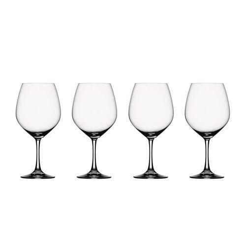 SPIEGELAU Gläser-Set »Vino Grande Rotwein-Ballon 4er Set«, Kristallglas