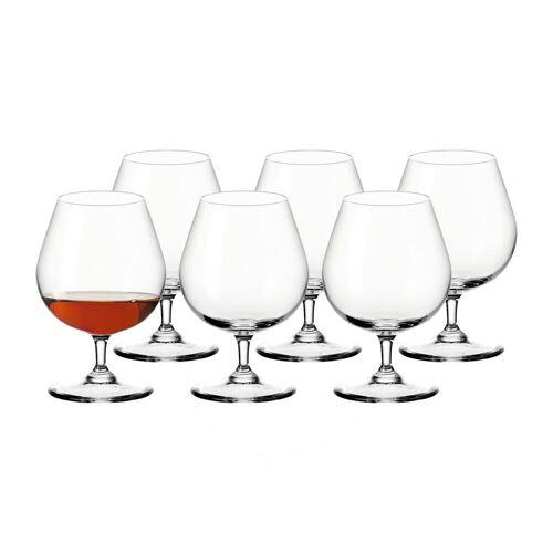 LEONARDO Schnapsglas »CIAO+ Cognacglas 400 ml 6-tlg.«, Glas