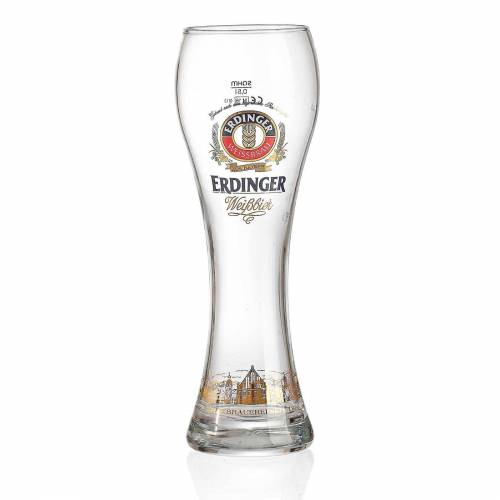 Ritzenhoff & Breker Bierglas »ERDINGER Weißbierglas 0,5l 1 Stück«, Glas