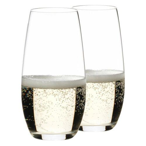 RIEDEL Glas Gläser-Set »O Champagner 2er Set«, Kristallglas
