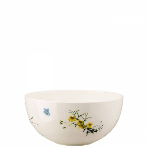 Rosenthal Schüssel »Brillance Fleurs des Alpes Schüssel 22 cm«, Porzellan, (1-tlg)