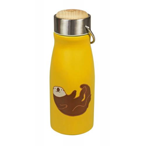 Capventure Trinkflasche »The Zoo Edelstahl Kinder Isolierflasche Thermoskanne Thermosflasche 300ml Auswahl: Seeotter«, Seeotter