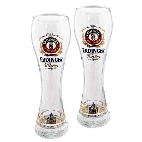 Ritzenhoff & Breker Bierglas »ERDINGER Weißbierglas 0,5l 2er Set«, Glas