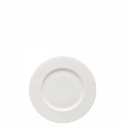Rosenthal Frühstücksteller »Brillance Weiß Frühstücksteller 19 cm Fahne«, (1 Stück)