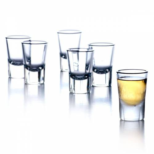 Rosendahl Schnapsglas »Schnapsgläser GRAND CRU 4cl - 6er Set«, bleifreies Glas