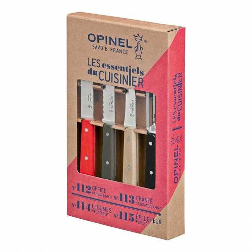 Opinel Messer-Set »Küchenmesser-Set LES ESSENTIELS Loft, 4-tlg« (4-tlg)
