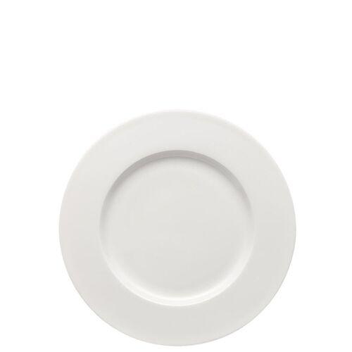 Rosenthal Frühstücksteller »Brillance Weiß Frühstücksteller 23 cm Fahne«, (1 Stück)