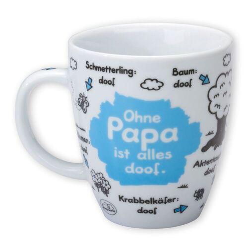 """Sheepworld Tasse »- Tasse """"Ohne ... ist alles doof"""" 0,5l ODIAD Geschenk Kaffee- Tasse Motiv: Papa«, Papa"""